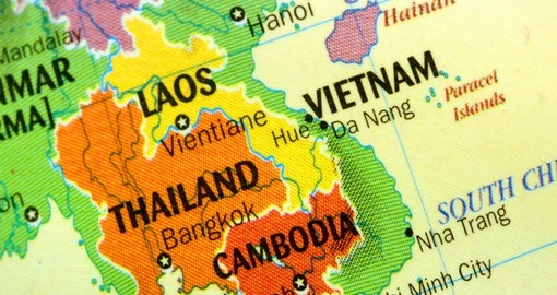 Laos is a landlocked country