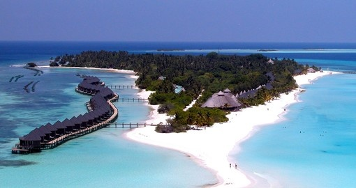 Experience all the amenities of the Kuredu Island Resort on your next Maldives vacations.