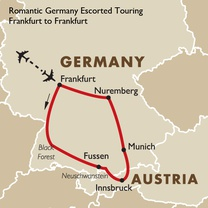 Romantic Germany Escorted Touring Frankfurt to Munich