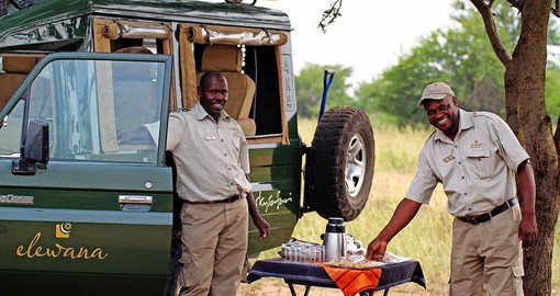 On your Kenyan Safari experience world class hospitality provided by your Kenyan Tour guides