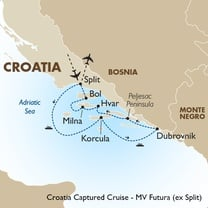 Croatia Captured Cruise - MV Futura (ex Split)
