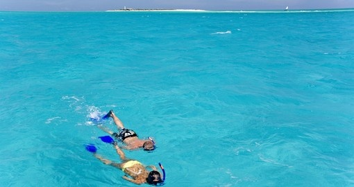 Snorkelling on Pemba Island is a great activity to do on your Mozambique vacation.
