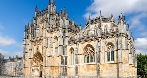 Visit Batalha monastery in Portugal and explore its Gothic architecture during your next Portugal tours.