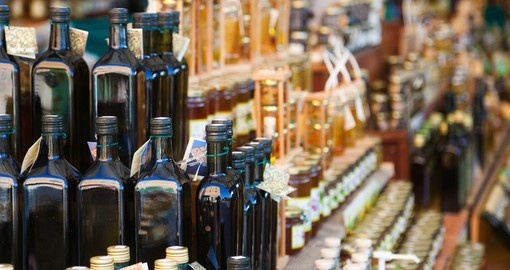 Croatia is a large exporter of olive oil