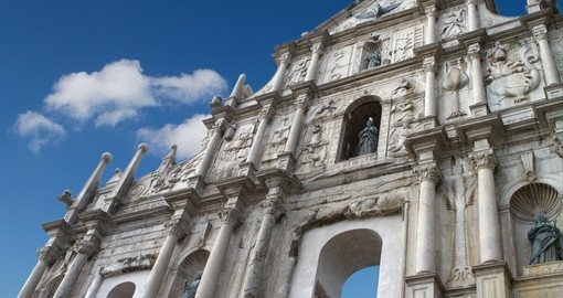 The Ruins of St Paul's is a always a popular photo opportunity on our Macau tours.