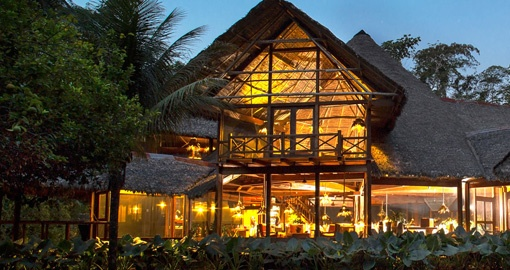 Stay at Inkaterra Lodge during your Amazon Tour
