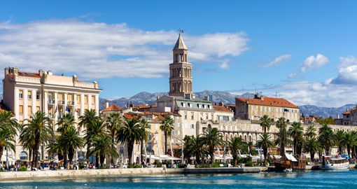 Split, Croatia's second-largest city.  Photo Credit Croatia National Tourist Board - Ivan Coric