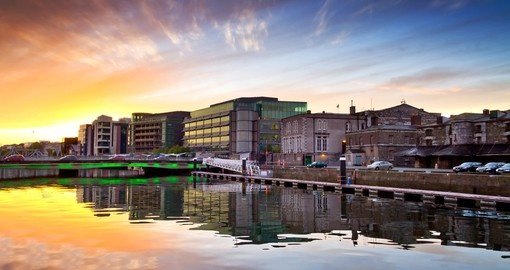 Experience beautiful sunset in Cork during your next trip to Ireland