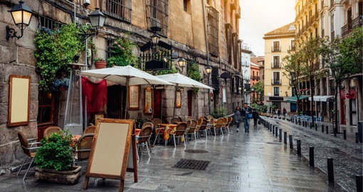 Enjoy walking around Madrid on your Spain vacation