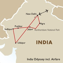 India Odyssey incl. Airfare