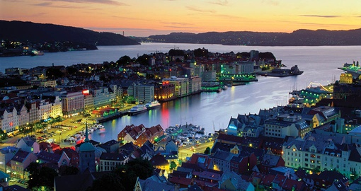 Experience the sites of Bergen on your trip to Norway