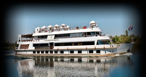 Experience all the amenities of the vessel during your next Egypt tours.