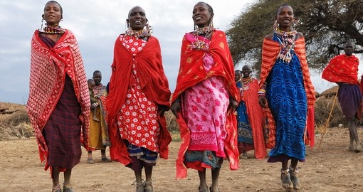Meet the Masai people during your next Kenya tours.