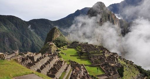 End your Machu Picchu tours with a visit to the enchanting fortress