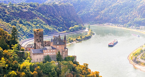 Option to cruise the Rhine River