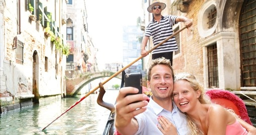 Have a gondola ride in Venice during your next Italy vacations.
