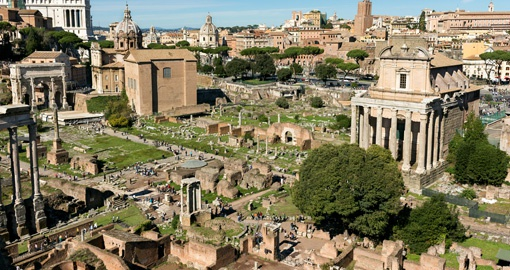 Visit the Forum on your trip to Rome