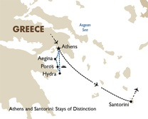 Athens and Santorini: Stays of Distinction