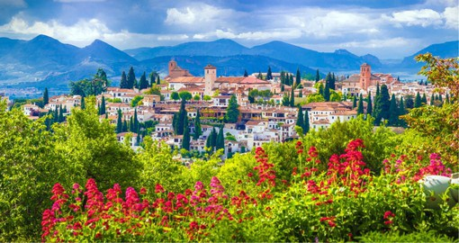 Sitting at the foot of the Sierra Nevada, Granada was the stronghold of the Spanish Moors