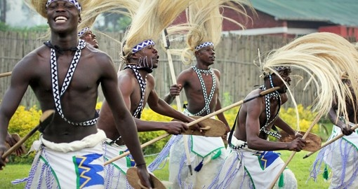 Tribal Dancers of the Batwa Tribe