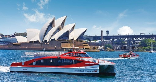 Get your Australia Vacation off to a great start with a cruise on Sydney Harbour