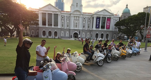 Spend time exploring on your Singapore Tour