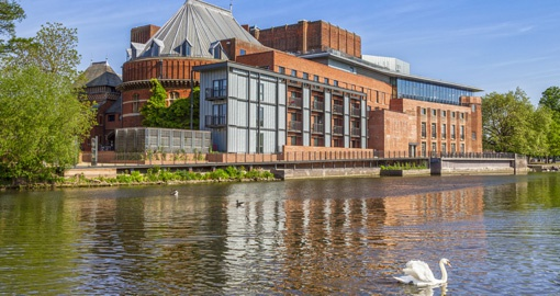 The Royal Shakespeare Theatre in Stratford- Upon-Avon