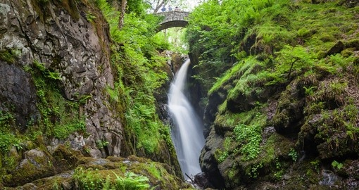 Explore Aria Force Falls in Lake District during your next trip to Englan