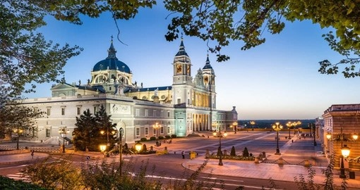 Madrid- La Almudena Cathedral and the Royal Palace