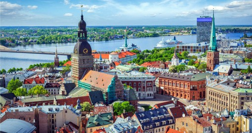 Riga is the centre of your Latvia vacation