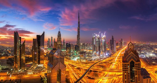 Dubai has evolved from a small fishing village to one of the world's most dynamic cities