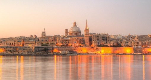 Valletta in the early morning