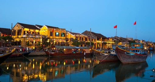 Historic Hoi An's Old Town has a well preserved legacy of temples and tea warehouses