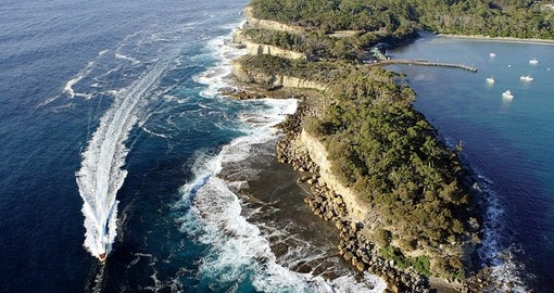 Experience Tasman Island Cruise during your Australia tours.