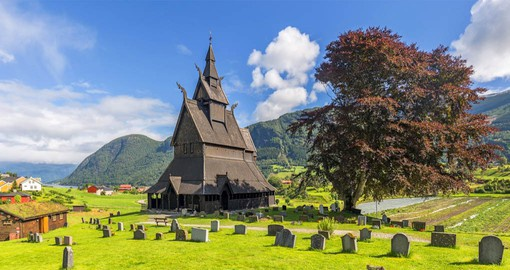 Hopperstad Stave Church is believed to have been built around the year 1130