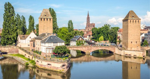 Strasbourg`s Grande Ile is listed as UNESCO World Heritage site