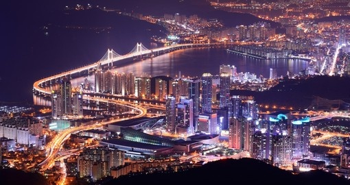 Skyline of Busan