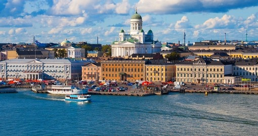 Explore Helsinki during your trip to Finland