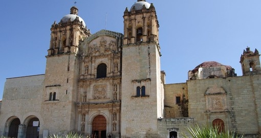 Visit historic Santo Domingo Church  on your trip to Mexico