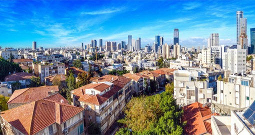 Begin your Israel vacation in cosmopolitan Tel Aviv