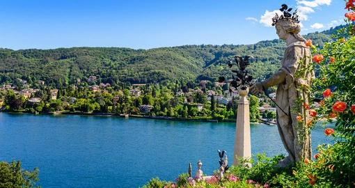 Visit gorgeous Lake Maggiore on your Italy vacation