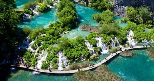 Take in Plitvice Lakes on your Croatia Tour