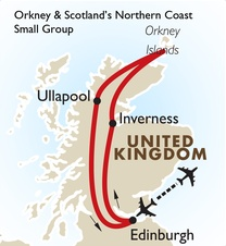 Orkney & Scotland's Northern Coast Small Group: Edinburgh to Edinburgh