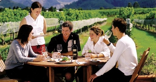 Explore the wine regions near Wellington