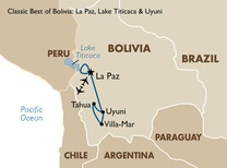 Classic Best of Bolivia: La Paz, Lake Titicaca and Uyuni