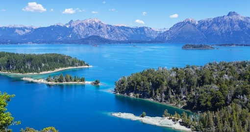 View from above, Bariloche