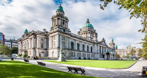 Opened in 1906, City Hall is one of Belfast's most iconic buildings