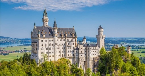 Neuschwanstein Castle is a must see on any Germany vacation