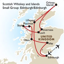 Scottish Whiskey and Islands Small Group: Edinburgh/Edinburgh