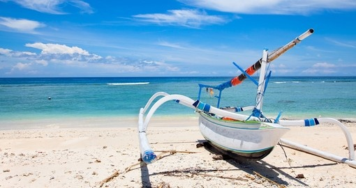 Fisherman boat on Lombok Island